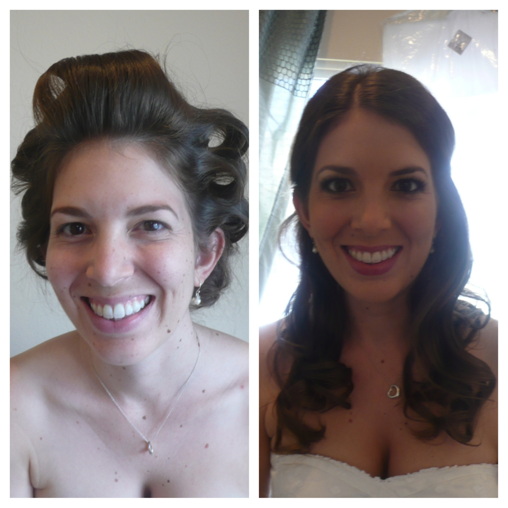 Makeup and Hair Before & After