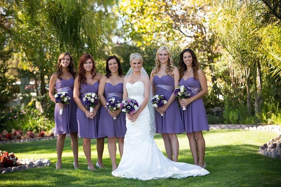 Bridal Hair And Makeup For Wedding At Moorpark Country