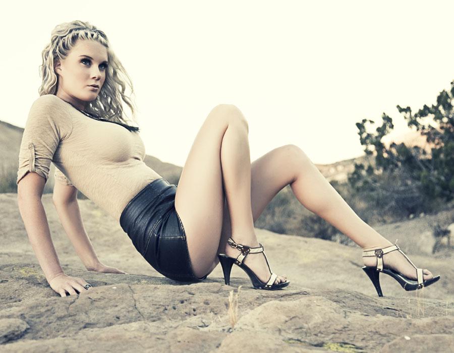 Blonde Fashion Shot
