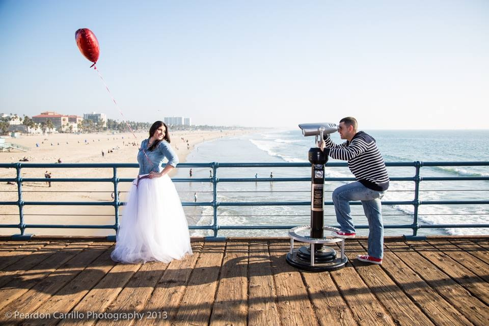 Santa Monica Engagement Shoot 2