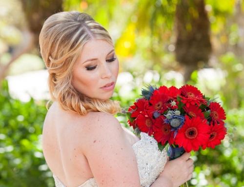 Bridal Makeup Artist for Wedding in Santa Barbara at Fess Parker Doubletree
