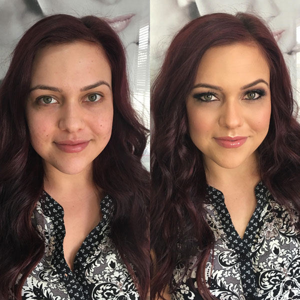 Green-Eyes-Before-and-After-Hair-and-Makeup