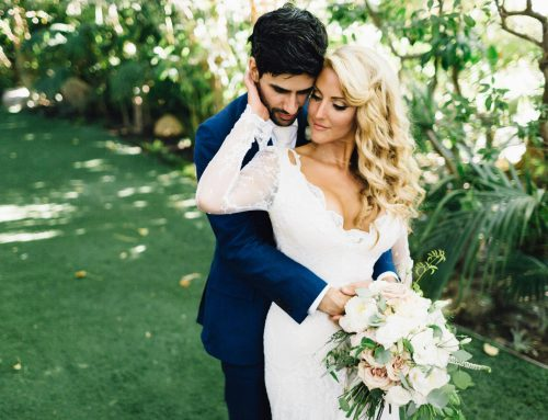 Bridal Makeup Artist for Wedding at Hartley Botanica in Somis, CA