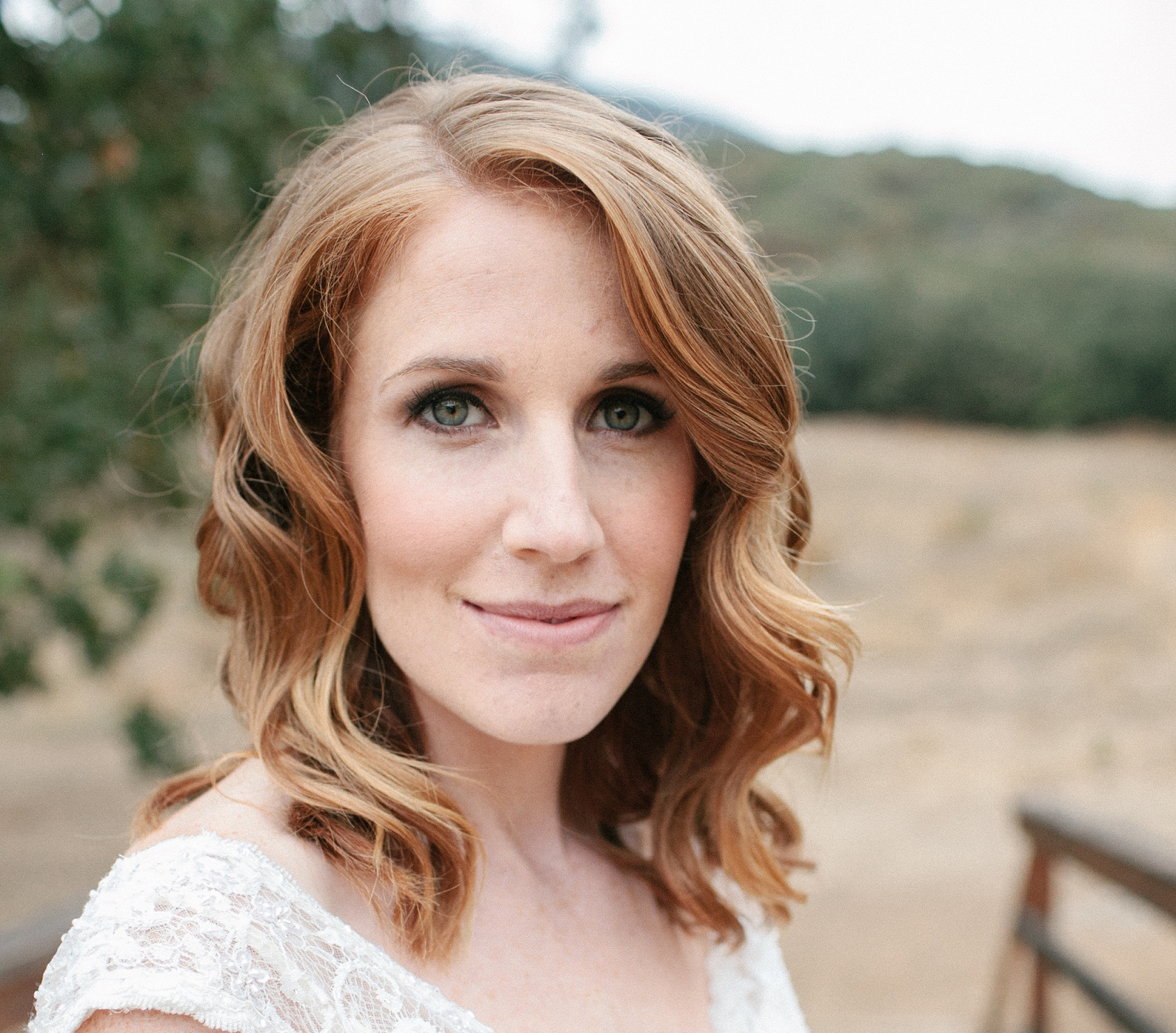Paramount Ranch Wedding Hair and Makeup
