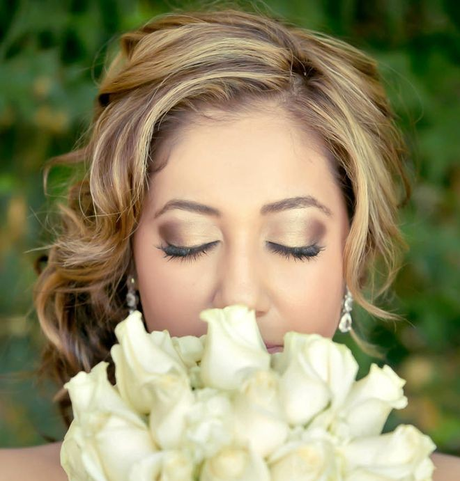 Wedding Makeup Artist Spanish Bride Moorpark Country Club 3