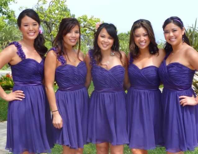 Hair & Makeup for Bridesmaids