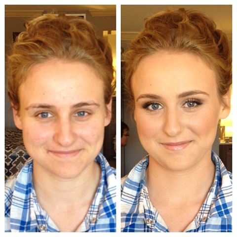 Before and After Hair & Make Up