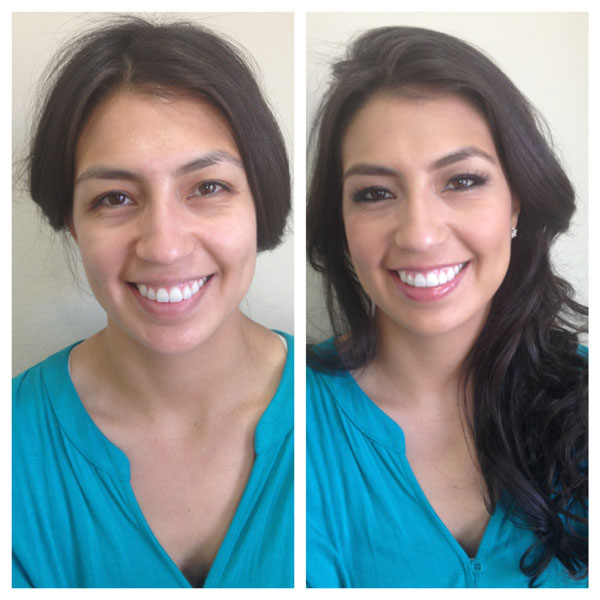 Makeup Hair Before After Los Angeles