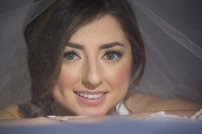 Bridal Makeup Veil