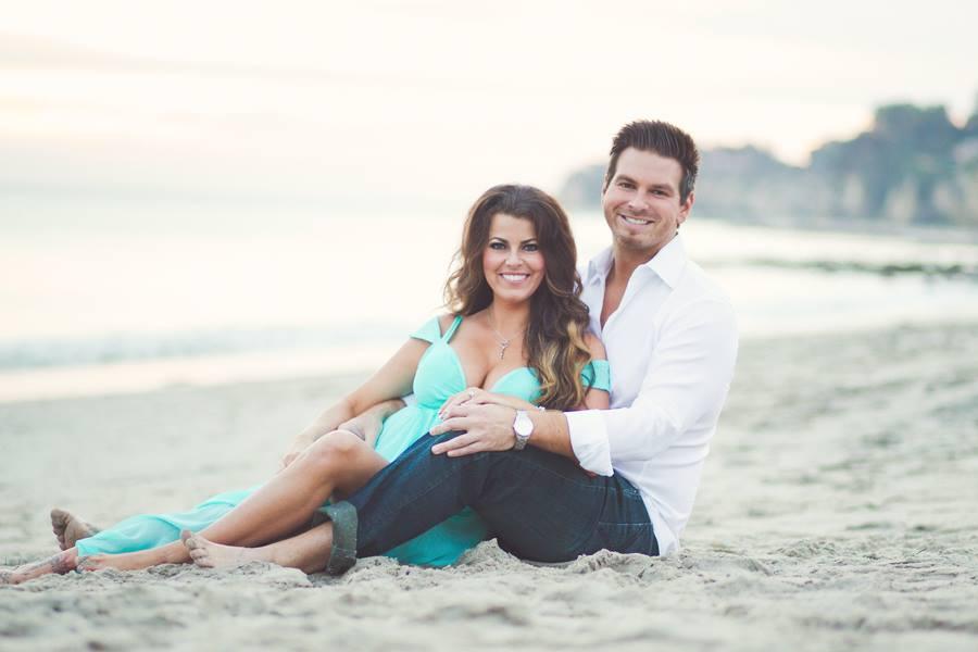 Engagement Photo Beach