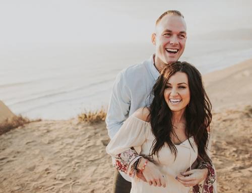 Engagement Photos in Malibu