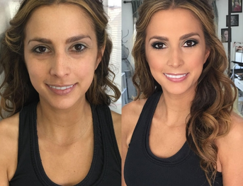 Brunette-Before-and-After-Makeup-and-Hair