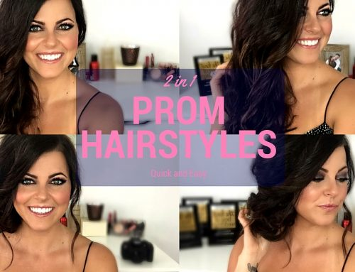Easy Prom Hairstyles Tutorial For Medium & Long Hair