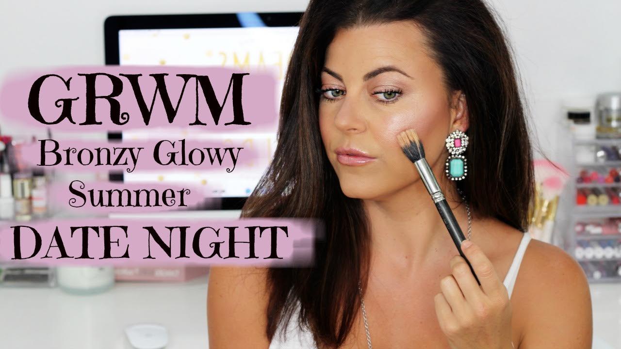 Bronzy Glowy Date Night GRWM