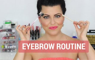 Eyebrow-Routine Makeup Tutorial