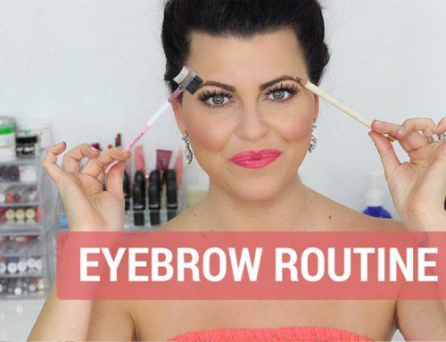 Eyebrow Routine Makeup Tutorial