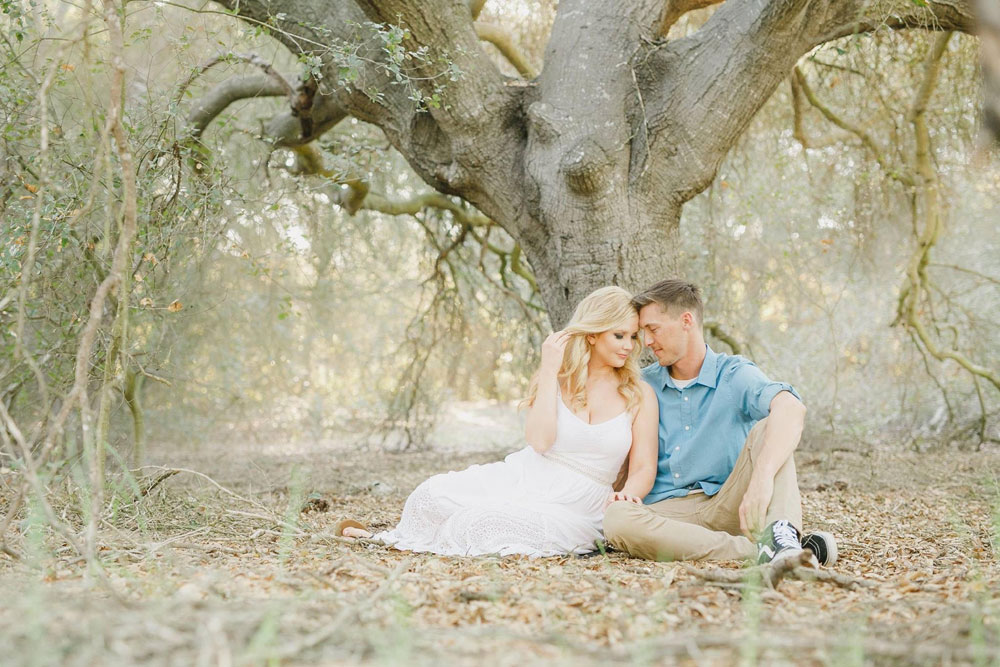 Orange County Engagement Photo Shoot Hair and Makeup 3