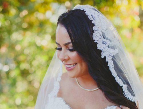 Bridal Makeup Artist for Wedding at Franciscan Gardens in Camino Capistrano, CA