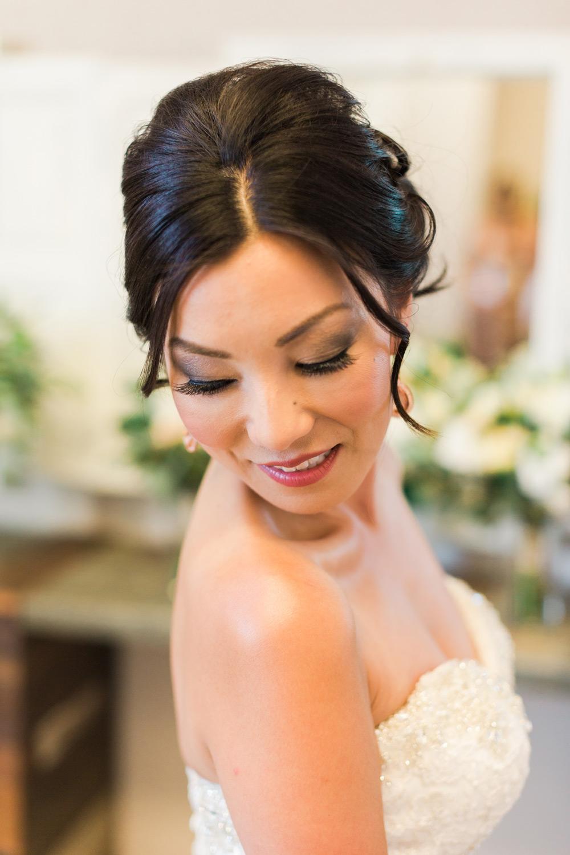bridal makeup artist for amber lee's wedding at tooth & nail